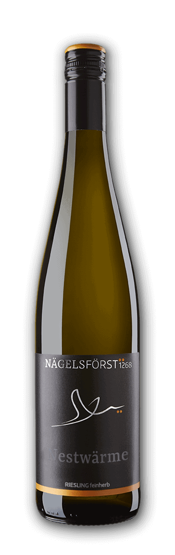 NESTWÄRME Riesling, 2016 – semi-dry, Pure Pleasures of the Senses – Estate wine