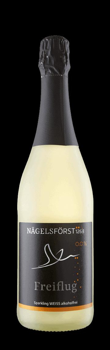 FLUGKÜNSTLER Sparkling Weiß, alkoholfrei, 2018