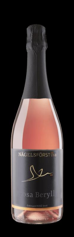 NÄGELSFÖRST, ROSA BERYLL Baden Crémant rosé brut, Ortenau, Baden, 2018 – brut – Langlebige Meisterwerke – Lagen- und Premium-Weine
